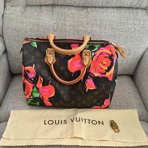 Louis Vuitton Stephen Sprouse Speedy Roses
